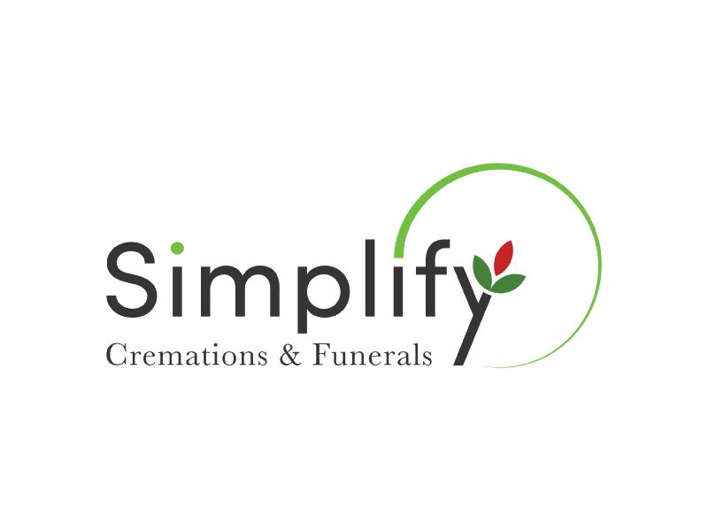 Simplify funerals logo.